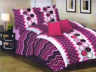 Loura Cotton Printed Double Bedsheet