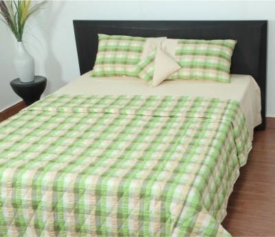 Thuhil Cotton Plain King sized Double Bedsheet