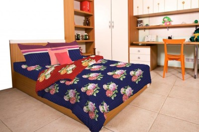 WESTA Cotton Printed Double Bedsheet