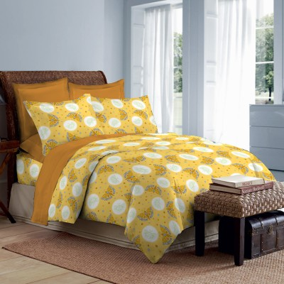 Bombay Dyeing Polycotton Printed Double Bedsheet