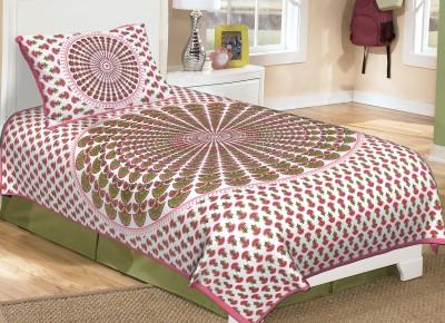 Metro Living Cotton Paisley Single Bedsheet