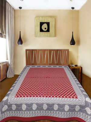 DnF Cotton Printed Single Bedsheet