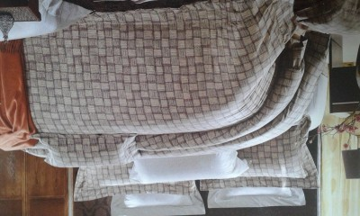Spade Cotton Geometric Double Bedsheet