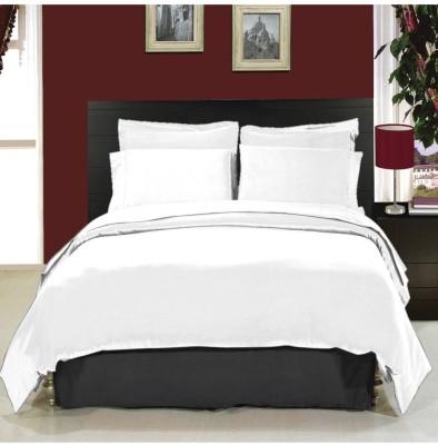 Handloomhub Cotton Plain Double Bedsheet