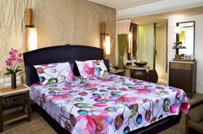 Govindam enterprises Cotton Floral Double Bedsheet
