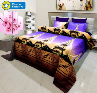 Signature Polycotton Printed King sized Double Bedsheet