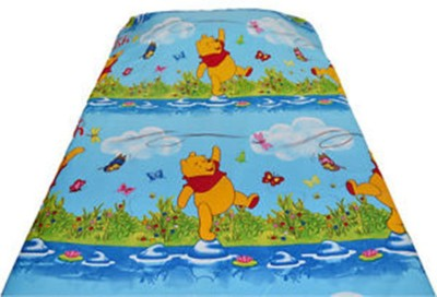 Idesign Cotton Cartoon King sized Double Bedsheet