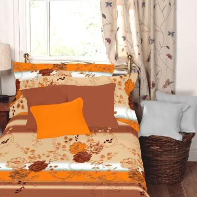 Snuggles Cotton Floral Single Bedsheet
