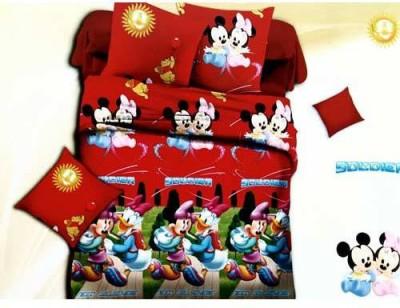 Tulaasi Cotton Cartoon Double Bedsheet
