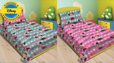 Disney Cotton Cartoon Single Bedsheet