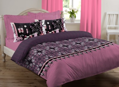 Royal Home Cotton Floral King sized Double Bedsheet