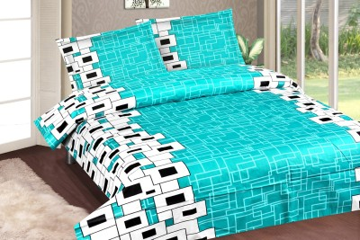 Royal Choice Cotton Geometric Double Bedsheet