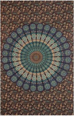 Mandala Tapestry Cotton Printed Single Bedsheet
