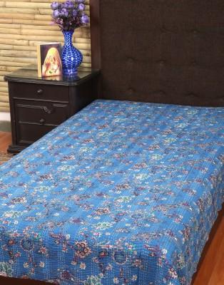 Rajrang Cotton Floral Single Bedsheet