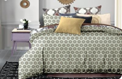 Portia Polycotton Printed King sized Double Bedsheet