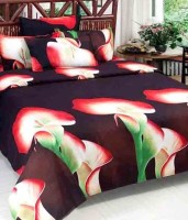 MEHAR HOME Cotton 3D Printed Double Bedsheet(1 DOUBLE BED SHEET WITH TWO PILLOW COVER, Multicolor) best price on Flipkart @ Rs. 449