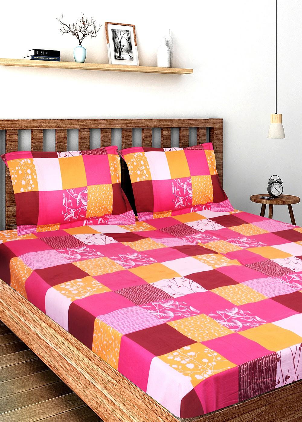 Flipkart - Cotton Double Bedsheets Premium Bedsheets