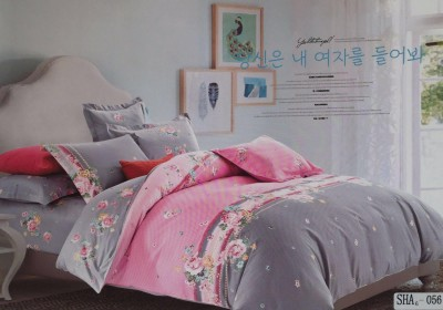 I-Dream Decor Cotton Printed Double Bedsheet
