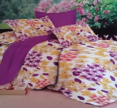 Stanley Cotton Floral King sized Double Bedsheet