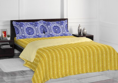 Spaces by Welspun Cotton Printed Double Bedsheet
