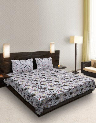 Home Stylerz Cotton Abstract Double Bedsheet