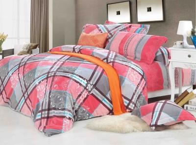 Portia Cotton Printed King sized Double Bedsheet