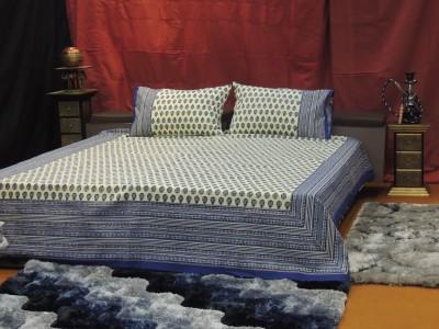 Abhinandan Cotton Floral Double Bedsheet