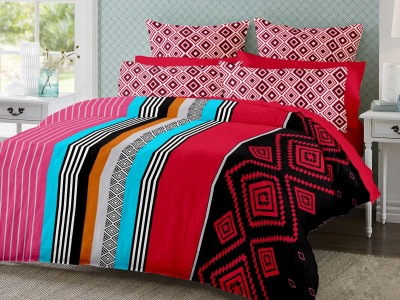 S4S Cotton Checkered Double Bedsheet