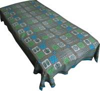 Jaipur Art and Craft Cotton Checkered Single Bedsheet(1 Single Bedsheet, Multicolor)