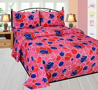 Reliable Trends Cotton Polka Double Bedsheet