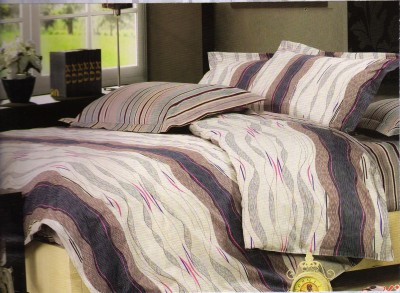 Sanaya Cotton Abstract Queen sized Double Bedsheet