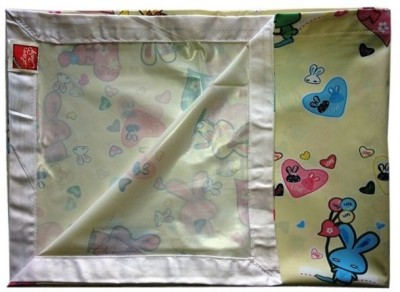 Love Baby Abstract King sized Double Bedsheet