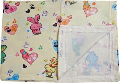 Love Baby Abstract Single Bedsheet