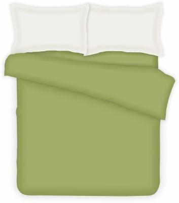 Casa Copenhagen Cotton Plain King sized Double Bedsheet