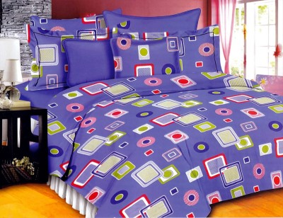 Georgia Cotton Geometric Double Bedsheet