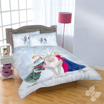 Uber Urban Cotton Cartoon Double Bedsheet