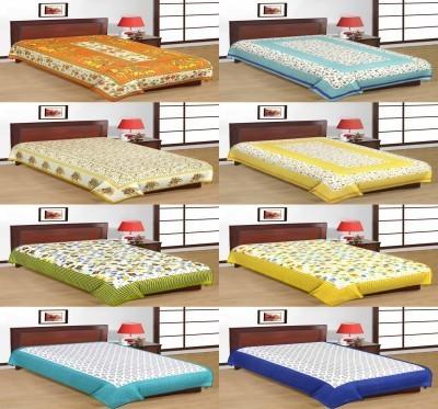 AS42 Cotton Printed Single Bedsheet