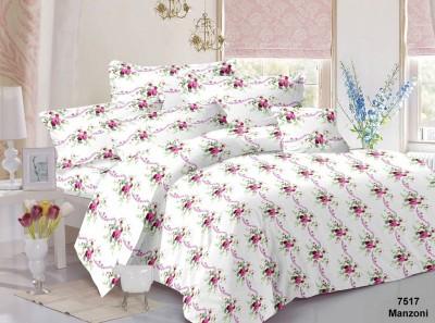 MTMO161 Cotton Floral Double Bedsheet