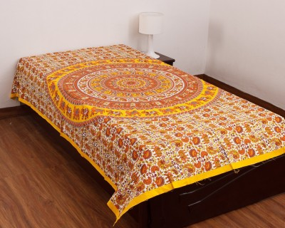 CottonHandiCluse Cotton Printed Single Bedsheet