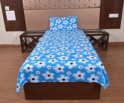 DnF Cotton Floral Single Bedsheet