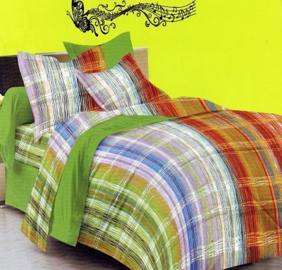 Nyssa Cotton Printed Double Bedsheet