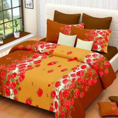 Modish Satin Printed Double Bedsheet