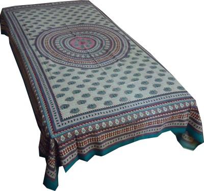Jaipur Art and Craft Cotton Floral Single Bedsheet