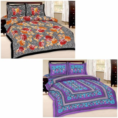 Tradition India Cotton Cartoon Double Bedsheet