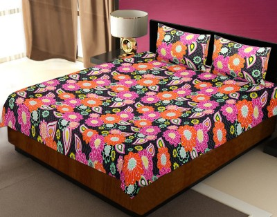 Tag Product Store Cotton Floral King sized Double Bedsheet