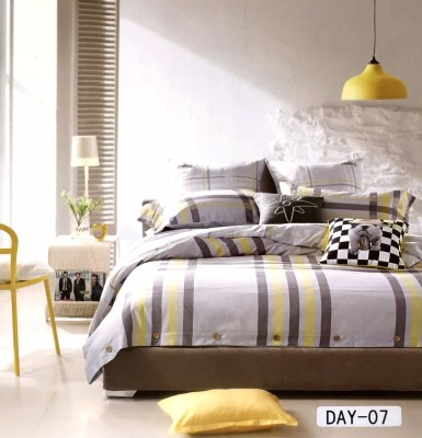 Bellagio Cotton Striped King sized Double Bedsheet