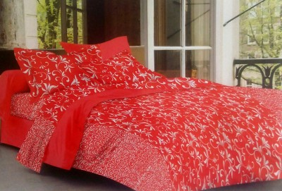 BHD Cotton Printed Double Bedsheet