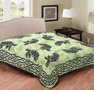 Hometexbazar Cotton Animal Double Bedsheet