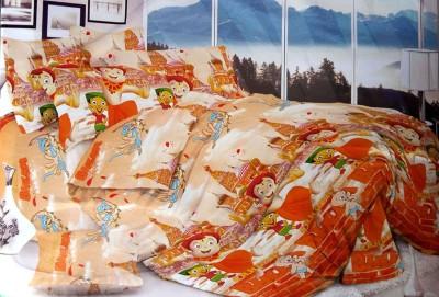 Shreem 2015 Cotton Cartoon Double Bedsheet