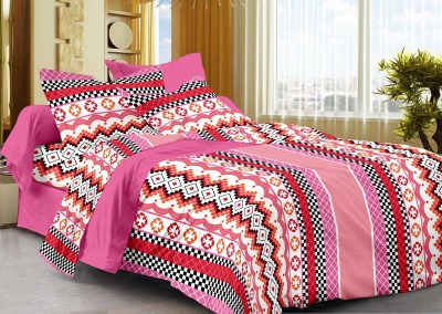 Bed Spun Cotton Floral Double Bedsheet